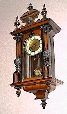 November 2013 john ball 39 s blog from brecon - Wall mounted grandfather clock ...