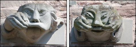 Gargoyles - Brecon Cathedral